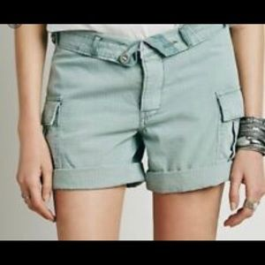 Cargo Shorts with fold over top